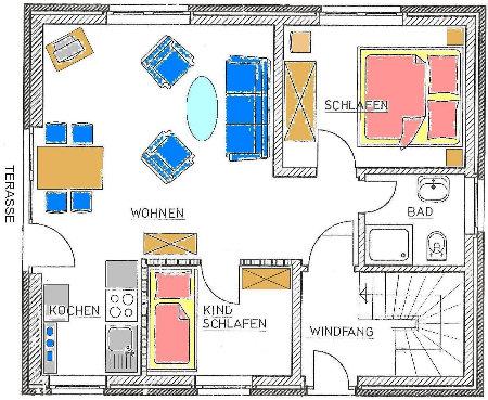 die wohnungen ferienhaus r bel m ritz ferienwohnungen mueritz m ritzsee unterkunft waren. Black Bedroom Furniture Sets. Home Design Ideas